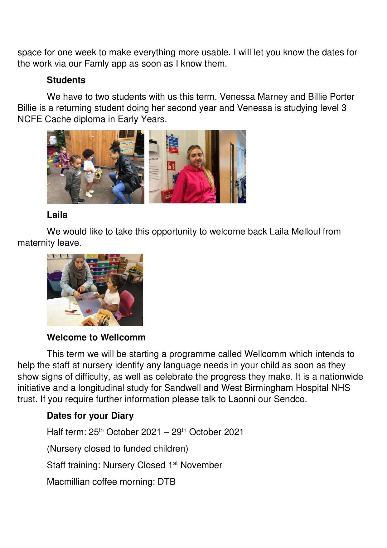Newsletter - Sept - Oct 21-2